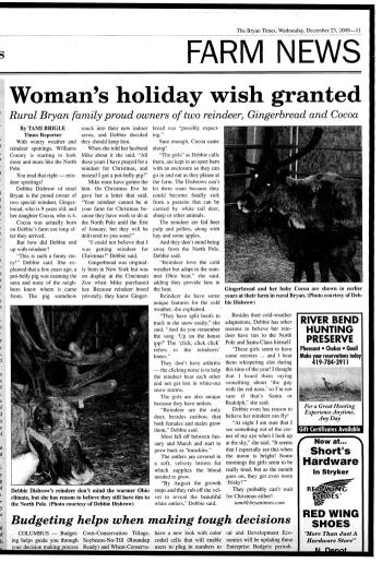 Woman's Holiday Wish Granted