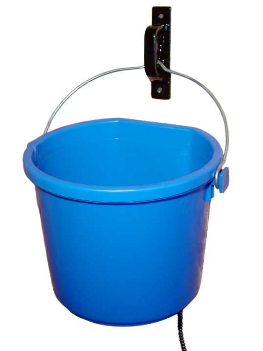 5 Gallon Heated Water Bucket from RAMM Horse Fencing & Stalls