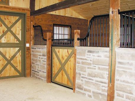 Custom Horse Stalls- Ramm